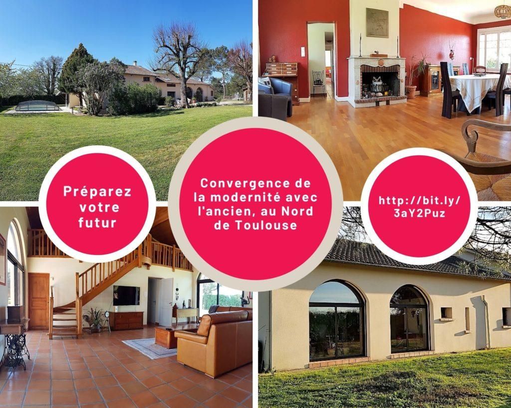 Maison à vendre à Fronton Propriétés privéés Toulouse Nord